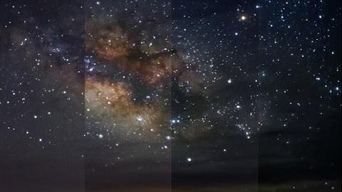 별을 보려면 얼마나 어두워야 하나
