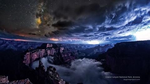 눈부시게 아름다운 미국의 밤하늘