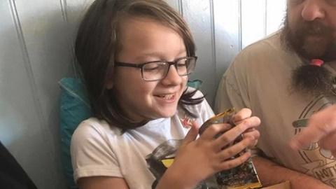 포켓몬 카드를 도둑맞은 소년, 기쁨의 눈물