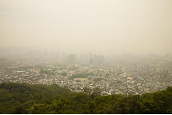중국發 초미세먼지 한 번에 구분한다