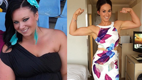 두 여성의 체중 감량 결과 '화제'