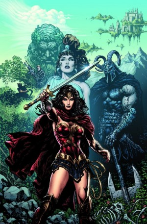 원더우먼 판권을 갖고 있는 DC코믹스는 2016년 이후 원더우먼 캐릭터이 모습을 다소 변경했다. 망토를 입히고 의상도 한층 '전사'에 가깝게 변했다. - DC코믹스 제공