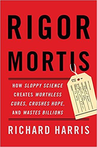 과학계에 만연한 재현성 위기를 파헤친 책 '사후경직'이 최근 출간돼 화제가 되고 있다. - amazon.com 제공