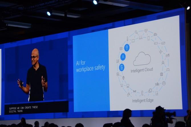 마이크로소프트는 인텔리전트 클라우드와 인텔리전트 엣지라는 개념으로 모든 서비스를 새로 묶었다. - 최호섭 제공