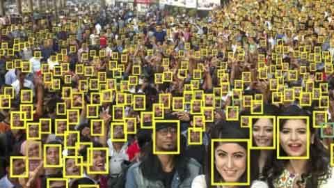얼굴인식 카메라, 몇 명까지 인식 가능할까?