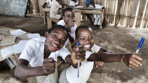 [사진작품]가난하지만 밝은 미소, 토고의 어린이들