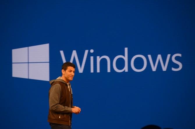 테리 마이어슨 수석 부사장, 윈도우10의 변화만큼이나 그의 다이어트도 놀랍다. - 최호섭 제공