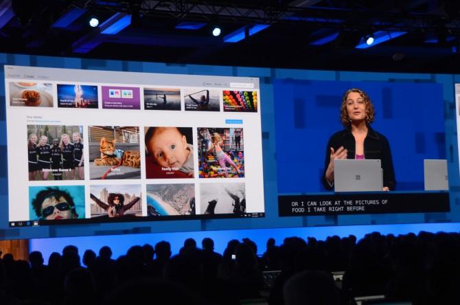 새 윈도우10에 들어갈 사진 앱. 머신러닝으로 사진을 분석하고 특수 효과를 입힐 수 있다. - 최호섭 제공