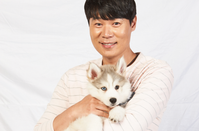 '개밥남'에 출연 중인 최현석 셰프와 반려견 '뚜이' - 채널A 제공