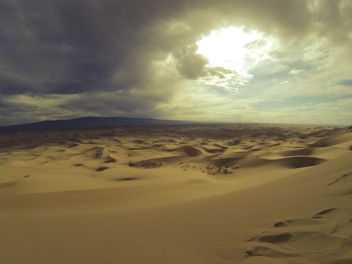 중국 고비사막의 모습 - Pixabay 제공