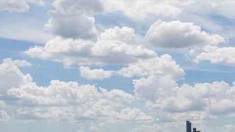 [16일 날씨] 전국 구름 많아…미세먼지 '보통'