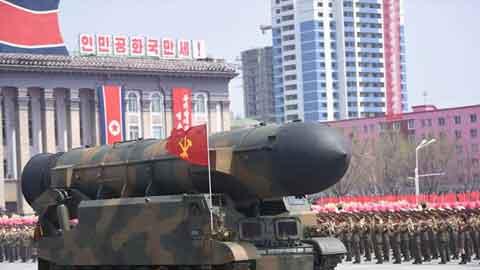 미국, 북한 신형 ICBM KN-17 탄도미사일 성공 판단