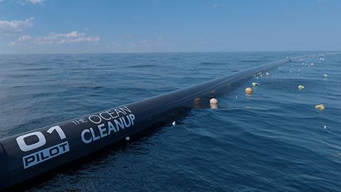 태평양 플라스틱 쓰레기 청소 프로젝트