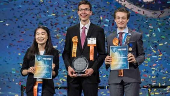 날개만으로 나는 드론, 세계 최대 청소년 과학대회서 대상