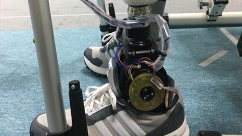 기계연, 움직임 자유로운 발목형 로봇 의족 개발