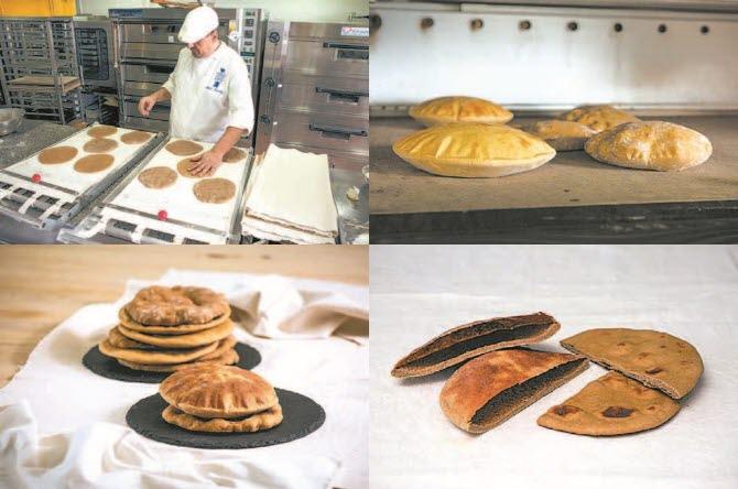알랭 상셰즈 제빵장과 기자가 발효된 반죽을 오븐에 넣고 굽자 먹음직스럽게 부푼 빵이 되었다. 완성된 빵은 현재 이집트 사람들이 주식으로 삼는 빵인