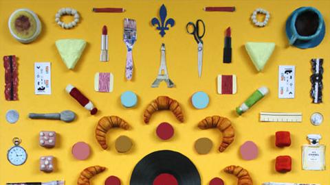 [포스터 아트] 프랑스 파리의 대표 상징물들