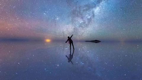볼리비아 판타지, 소금 호수와 밤하늘