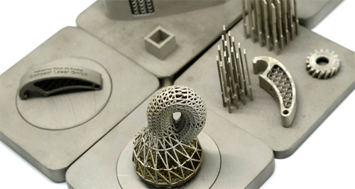 재료연구소 연구진이 3D프린터로 출력한 금속제품. 최근 3D프린터 기술의 발전으로 금속은 물론 세라믹(도자기), 복합재료 등 다양한 소재의 물품 출력이 가능해졌다 - 재료연구소 제공
