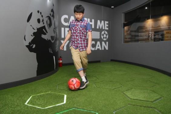 축구와 함께 배우니 수학이 즐겁다...축구장에서 열린 수학 교실