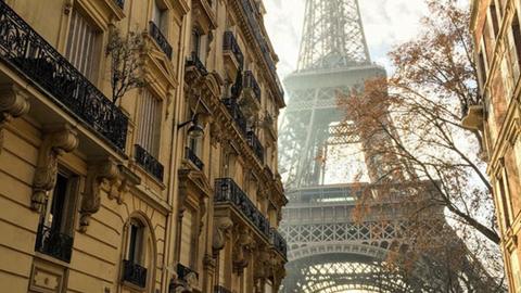 신기루 같은 에펠탑 사진 '인기'