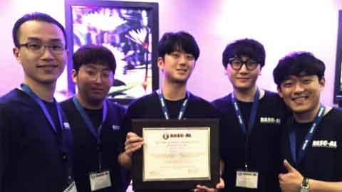 韓-美 공동 학생 팀, NASA 주관 국제대회서 1등상 수상