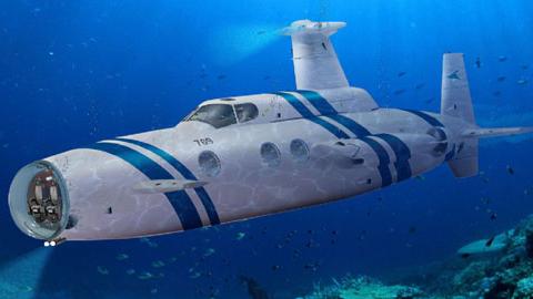네덜란드의 호화 개인용 잠수함