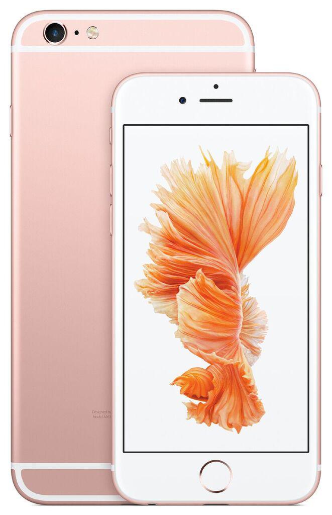 아이폰6s와 6s플러스, 화면 누르는 세기를 인식하는 3D 터치가 더해졌다. - 애플 제공