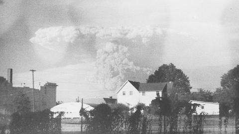 중고 카메라에서, 37년전 화산 폭발 장면 발견돼