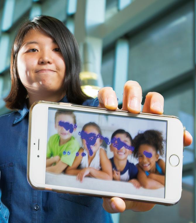 미국 뉴욕주립대 버펄로캠퍼스 컴퓨터공학과 학부생 조근우 씨는 시선 추적으로 자폐를 진단하는 앱을 개발했다. - SUNY Buffalo 제공