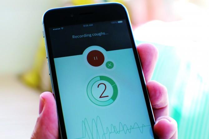 기침 소리를 분석해 폐렴을 94% 민감도로 진단할 수 있는 레스앱. - ResApp 제공