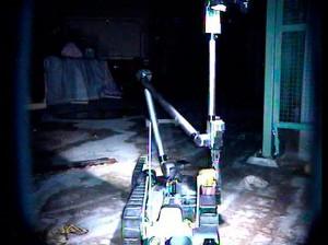 2011년 일본 후쿠시마 원전 사고 당시. 미국의 로봇