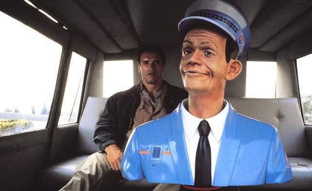 로봇이 운전을 하는 자율주행 택시가 등장하는