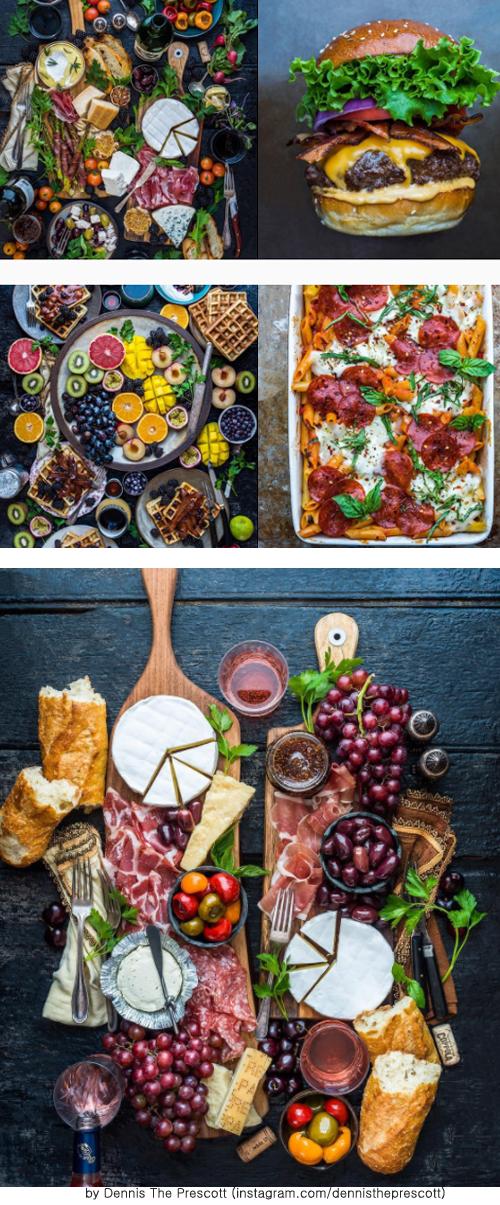 화려한 음식 사진들