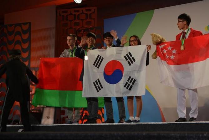 한국 고교생 대표단, 국제수학올림피아드에서 우승 - 미래창조과학부 제공