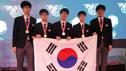 한국 대표팀, 2017 국제물리올림피아드서 종합 1위 달성