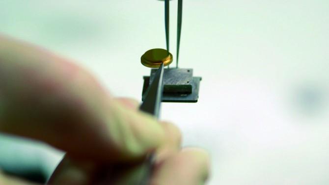 나노카가 달린 경기장. 금이나 은으로 만들어졌으며 영하 268℃로 유지됐다. - CEMES/CNRS Photheque 제공