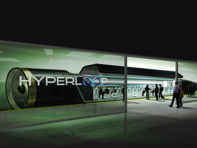 하이퍼루프가 완전 상용화 되었을 때 탑승 터미널의 상상도