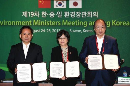 한·중·일 동북아 미세먼지 공동 연구결과 공개키로 합의