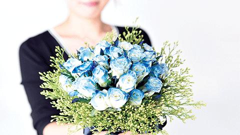 불가능을 가능으로 바꾼 파란 꽃