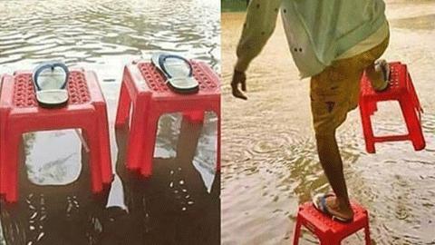 홍수용 슬리퍼 발명