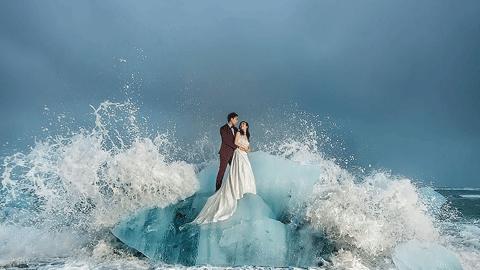 '올해 세계 최고의 웨딩사진' 발표