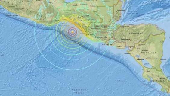 멕시코 규모 8.0 강진...멕시코시티까지 건물 흔들려