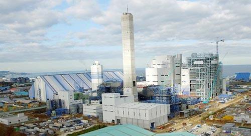 올 3월 가동을 시작한 북평 화력발전소. - GS동해전력 제공
