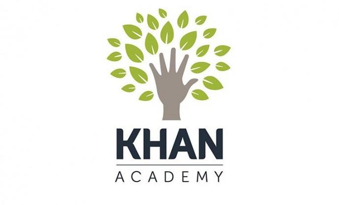 칸아카데미는 모든 곳의 모든 이들을 위한 세계적인 수준의 무료 교육이라는 교육 목표를 세우고 실천하고 있다. - 칸아카데미 로고 제공