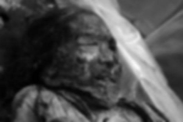 2010년 경북 문경에서 발견될 당시의 조선시대 여성 미라. - 플로스원 제공
