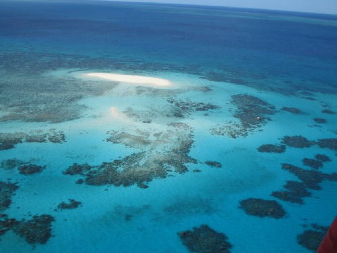 세계최대의 산호초지역인 호주의 그레이트 베리어 리프 - UNESCO 제공