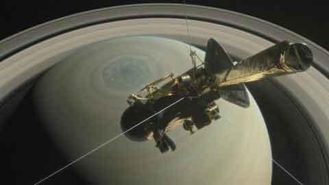 9가지 숫자로 본 토성 탐사선 카시니의 일생