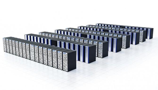2018년 새롭게 도입될 슈퍼컴퓨터 5호기의 모습 - 한국과학기술정보연구원 제공
