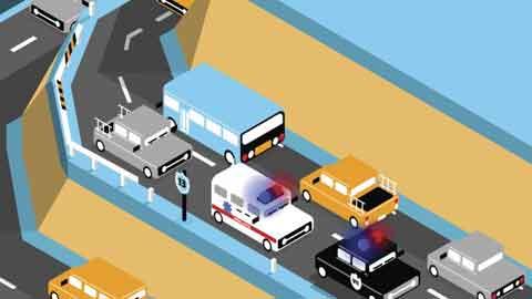 [메이커 인 스쿨] 구급차가 어느 차선으로 달려오는지 미리 알 수 있다면?